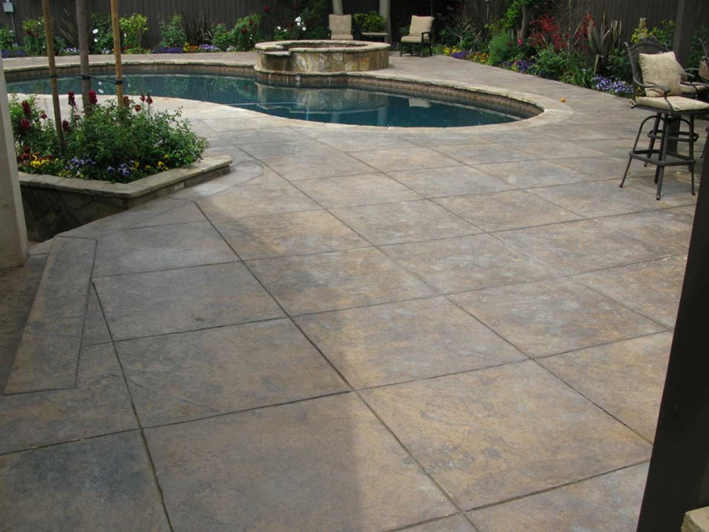 Concrete Pool Decks Photo Gallery Pool Deck Gallery • Aleria Custom Concrete